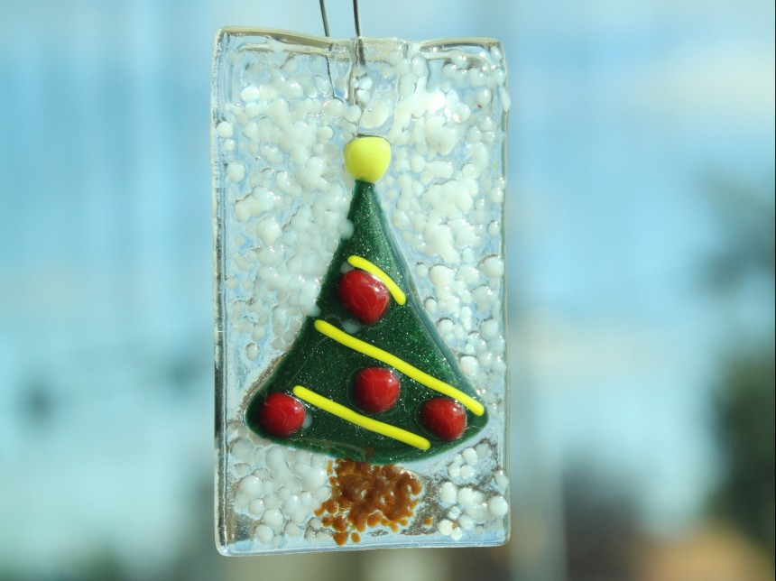 Fused Ornaments