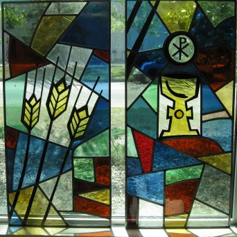 From the painted elements to working with all hand made glass, these windows were fun to build.