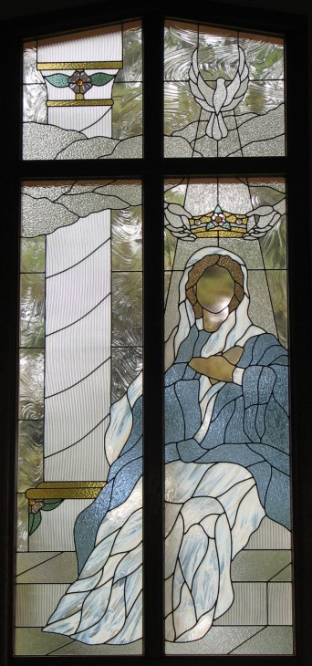 Window Set #9:  The Crowning of Mary