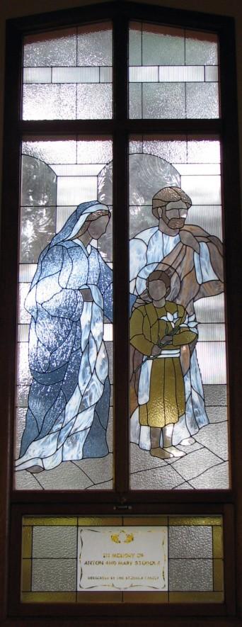 Window Set #3:  The Holy Family