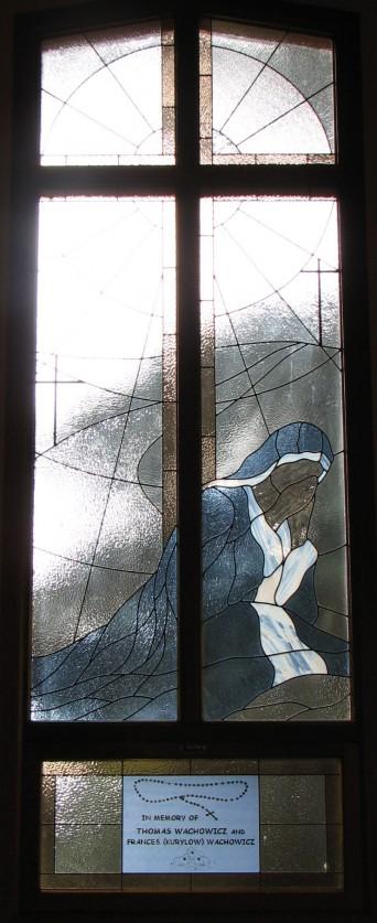 Window Set #4:  Mary at the Cross