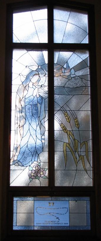 Window Set #1:  The Annunciation