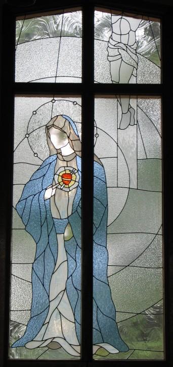 Window Set #6:  The Sorrowful Heart of Mary