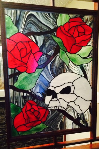 skull and roses ins
