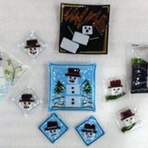 Snowman Fused Plate