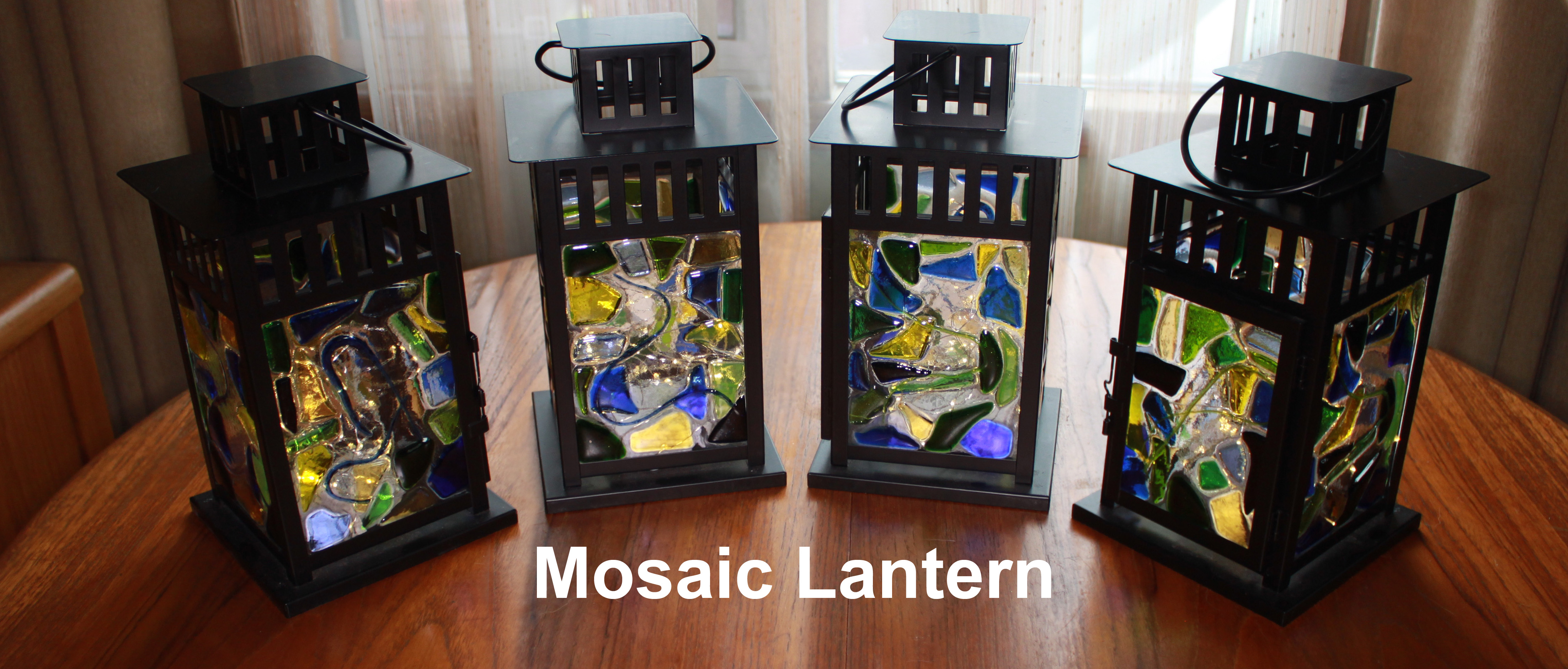 Glass Lanterns Bissett Stained Glass
